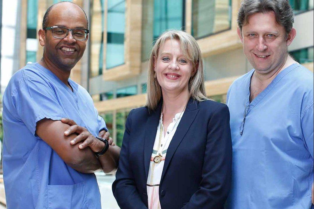Bart, Treasa, Ahmed and Andi at Beacon CARE Fertility